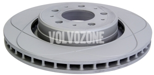 Front brake disc (302mm) P80 C70/S70/V70(XC) slotted