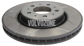 Front brake disc (302mm) P80 C70/S70/V70(XC) slotted