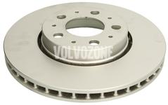 Front brake disc (285,5mm) P2 S60/S80/V70 II/XC70 II