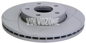 Front brake disc (278mm) P1 C30/C70 II/S40 II/V50 slotted