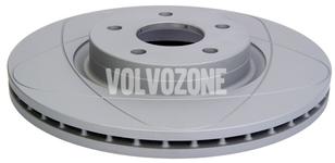 Front brake disc (300mm) P1 C30/C70 II/S40 II/V50 slotted