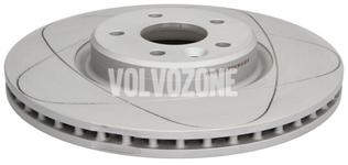 Front brake disc (320mm) P1 C30/C70 II/S40 II/V50 slotted