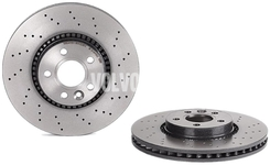 Front brake disc (316mm) P3 S60 II(XC)/V60(XC) S80 II/V70 III/XC70 III perforated