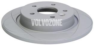 Rear brake disc (280mm) P1 C30/C70 II/S40 II/V50 slotted