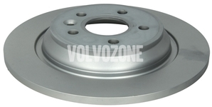 Rear brake disc (electric parking brake)(non vented) P3 S60 II(XC)/V60(XC) S80 II/V70 III/XC70 III