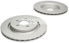 Rear brake disc (electric parking brake)(internally vented) P3 S60 II/V60 S80 II/V70 III/XC70 III