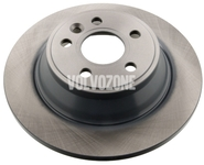 Rear brake disc (manual parking brake)(non vented) P3 S80 II/V70 III/XC70 III