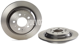 Rear brake disc (283mm) P80 S70/V70(XC) with AWD (old type)