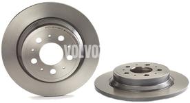 Rear brake disc (288mm) P2 S60/S80/V70 II/XC70 II