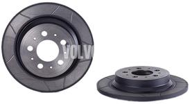 Rear brake disc (288mm) P2 S60/S80/V70 II/XC70 II slotted