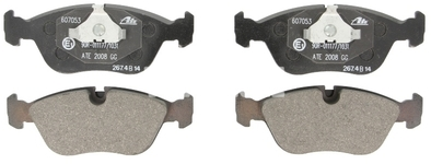Front brake pads (280mm diameter) P80 C70/S70/V70(XC)