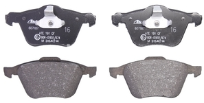 Front brake pads (316mm diameter) P2 S60/V70 II/XC90