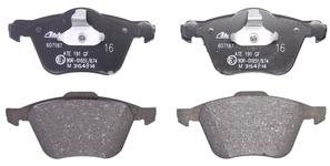 Front brake pads (320mm diameter) P2 S60/S80/V70 II/XC70 II