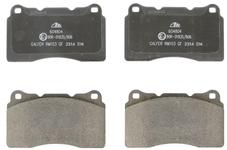 Front brake pads (330mm diameter) P2 S60R/V70R II (system Brembo)