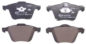 Front brake pads (336mm diameter) P2 XC90