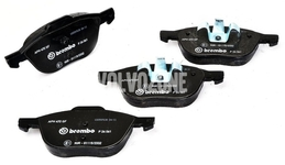 Front brake pads (278/300mm diameter) P1 V40 II(XC)