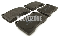 Rear brake pads (330mm diameter) P2 S60R/V70R II (system Brembo)