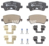 Rear brake pads (electric parking brake)(solid disc) P3 S60 II(XC)/V60(XC)