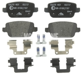 Rear brake pads (manual parking brake)(solid disc) P3 S80 II/V70 III/XC70 III