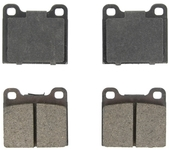 Rear brake pads (295mm diameter) P80 C70/S70/V70 without AWD