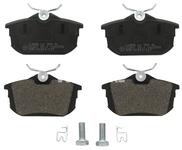 Rear brake pads (260mm diameter) S40/V40