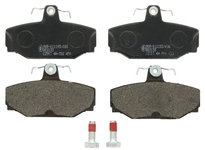 Rear brake pads (283mm diameter) P80 S70/V70(XC) with AWD (old type)