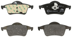 Rear brake pads (288mm diameter) P80 S70/V70(XC) with AWD (new type), P2 S60/S80/V70 II/XC70 II