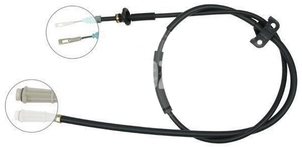 Park brake cable P2 S60 without AWD rear part, left/right side