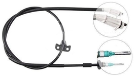 Park brake cable P2 S60 with AWD rear part, left/right side