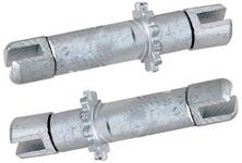 Park brake shoe adjusters P80 C70/S70/V70(XC) P2 S60/S80/V70 II/XC70 II/XC90 P3 S80 II (-2008)