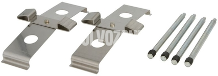 Front brake pads accessory kit P2 S60R/V70R II (system Brembo)