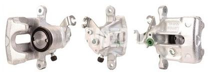 Rear brake caliper left (260mm diameter) S40/V40 (-2000)
