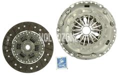 Clutch kit P2/P3 M66 AWD D3/D4/2.4D,D5 with DPF/R (2006-)