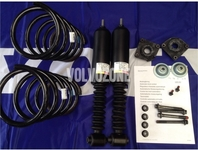 Rear shock absorbers nivomat kit with springs P2 V70 II without AWD