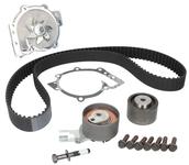 Timing belt kit 2.4D/D3/D4/D5 5 cylinder engines + water pump