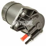 Fuel filter with heating 2.4D/D5 (2004-) P2 (plastic - new type)