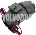 Fuel filter with heating 2.0D, 2.0 D3/D4/D5, 2.4D/D5 4-5 valec P3 (Variant code C101)