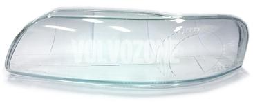 Headlight lens left xenon P2 (-2004) S60/V70 II/XC70, S60R/V70R II (2004-)