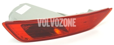 Rear bumper reflector lens left P3 XC60 (-2013) with fog light