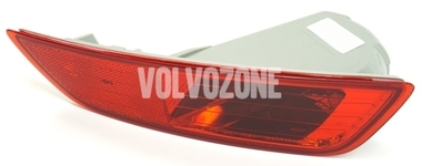 Rear bumper reflector lens right P3 XC60 (-2013) with fog light