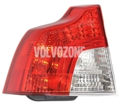 Taillight left P1 S40 II (2008-) with fog light