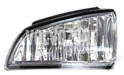 Outside mirror turn indicator left P1 C70 II (-2007), S40 II/V50 (-2006)