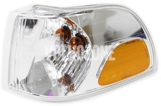 Front indicator left P80 C70 clear glass