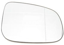 Outside mirror glass right P1 (2010-) C30/C70 II/S40 II/V50 passenger side