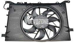 Radiator cooling fan 2.4D/D5 without DPF, 5 cylinder gasoline engines P2 (2004-) S60/S80/V70 II/XC70 II