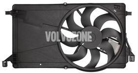 Radiator cooling fan 1.6D/D2, 1.8/2.0 (manual gearbox) P1 C30/S40 II/V50