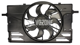 Radiator cooling fan 2.4/T5 P1 C30/C70 II/S40 II/V50