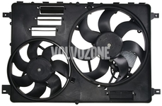 Radiator cooling fan P3 with 2 fans (DR01) new type