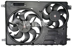 Radiator cooling fan P3 with 2 fans (DR01)