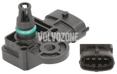 Boost pressure sensor P1 P3 (2014-) 2.0 D2/D3/D4/D5, P3 2.0 T Polestar/T5 V60 XC without AWD